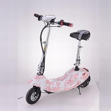 HD Señora Plegable Mini Coche Eléctrico de Litio Scooter Eléctrico Bicicleta Eléctrica Pequeña Batería Coche Scooter