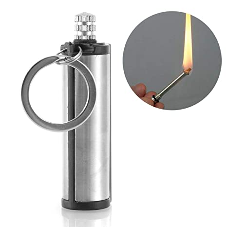 Permanent Match Lighter Waterproof Outdoor Camping Metal Striker Survival Gear Fire Starters Emergency Gear