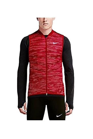 142aff27109f Amazon.com  NIKE Aeroloft Flash Jacket Men s Running Reflective Vest ...