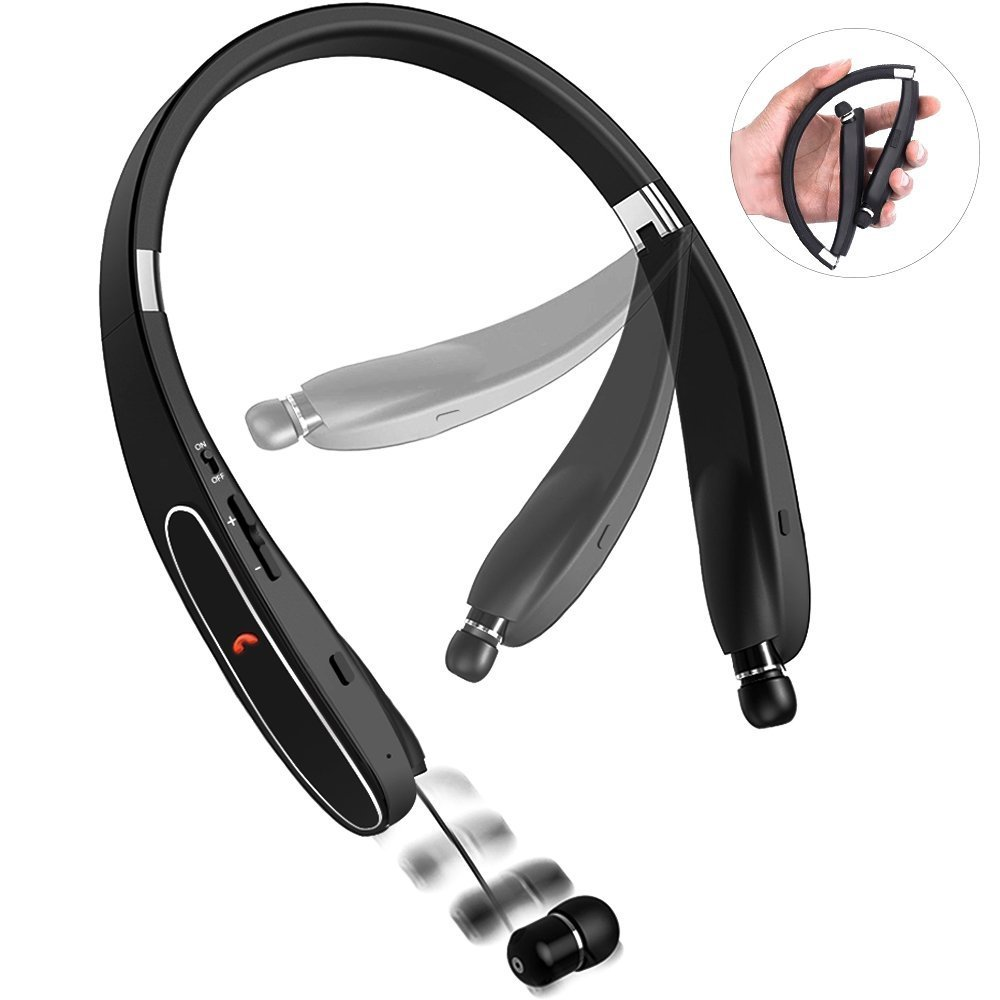 Amazon com: Bluetooth Headphones, Bcway [20 hours playtime] Wireless