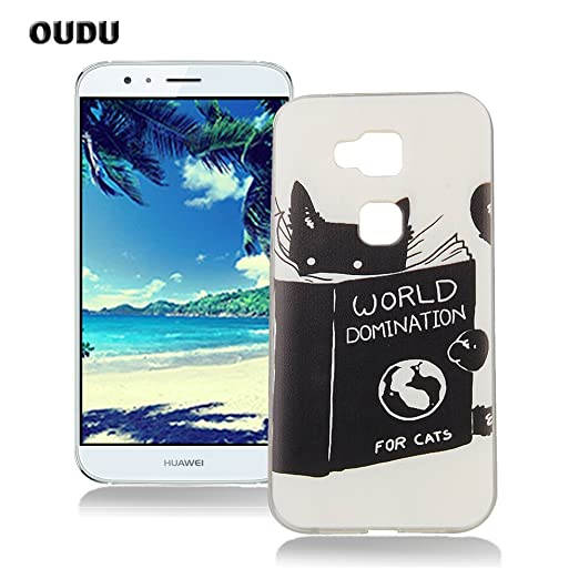 90 opinioni per OuDu Cover Huawei G8 Custodia TPU Silicone Cassa Gomma Soft Silicone Case Bumper