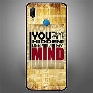 Huawei Nova 3e You are Hidden in my Mind, Zoot Designer Phone Covers