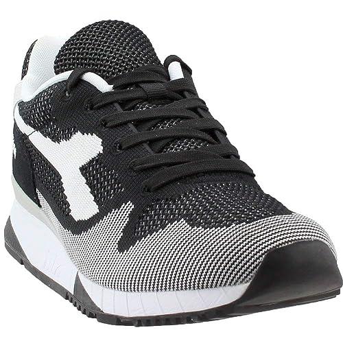 Diadora Men s V7000 Weave Black White Black 6.5 M US  Amazon.in  Shoes    Handbags 977797032ad