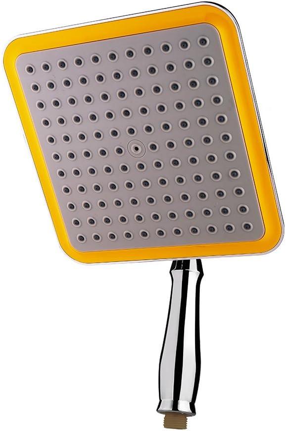 chrome poli et haute pression pour salle de bain 20 x 20 cm Iraza Pommeau de douche carr/é en acier inoxydable 304 design ultra l/éger /économie deau