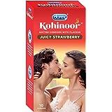 Durex Kohinoor Condoms - 10 Count (Juicy Strawberry)