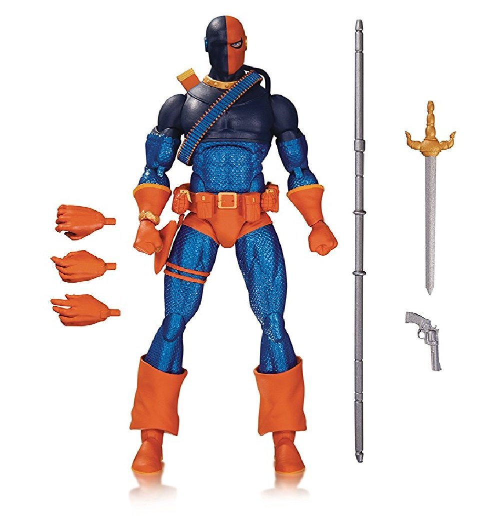 DC Collectibles DC Comics Icons: Deathstroke from Teen Titans: The Judas Contract Action Figure by DC Collectibles