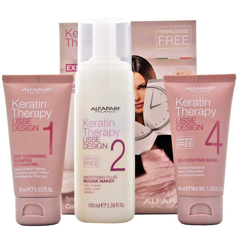 AlfaParf Lisse Design Keratin Therapy Smoothing Treatment Kit 8022297032375