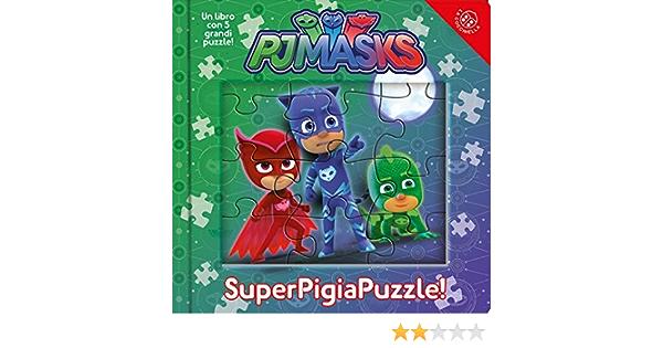 Superpigiamini. Puzzle. Pj Masks. Ediz. a colori : Amazon.es ...