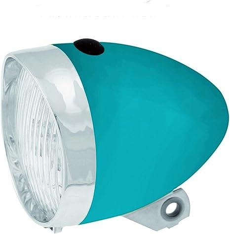 Luz Foco Frontal de 3 Led con Pilas incluidas para Bicicleta Retro ...