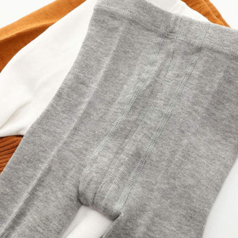 LPATTERN Lot de 3 B/éb/é Enfants Collants Chaussettes Coton B/éb/é Fille Collants et Leggings 1-6ans
