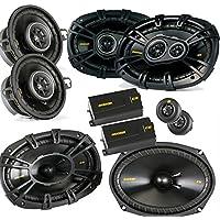 Kicker for Dodge Ram Crew Cab 2012+ bundle- CS 6x9 components, CS 6x9 coaxials, and CS 3.5 coaxials