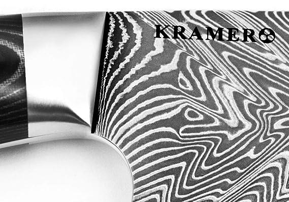 Kramer Euroline - Juego de 7 cuchillos (acero inoxidable ...