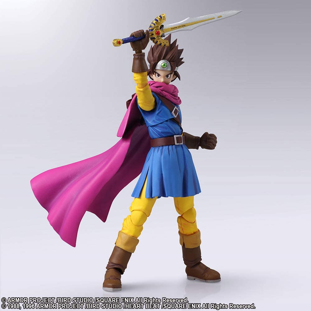 Amazon Com Square Enix Dragon Quest Iii Bring Arts Hero Action Figure Toys Games There are many valuable items available in the shops of alefgard, and others that can be found hidden in dungeons or treasure chests. square enix dragon quest iii bring arts hero action figure