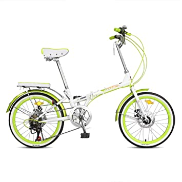 Bicicleta Plegable para Adultos De 20 Pulgadas, Ultra Ligera Y Conveniente Bicicleta De Montaña Plegable