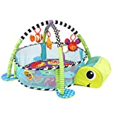 Amazon Price History for:Baby Cartoon Toys Grow with Me Activity Gym Play Mat and Ball Pit Infant Floor Blanket Educational Gym Mats Kids Rug Activity Climbing Carpet Tuetle