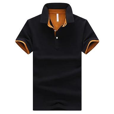 98555ad22e5 Richard Nguyen Fashion Clothing New Men Polo Shirt Men Business Casual  Solid Male Polo Shirt Short