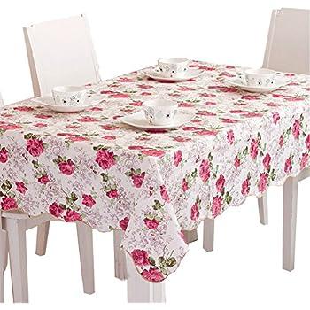 Peony Garden Tablecloths 60 X 80 Inch Rectangular Tablecloth