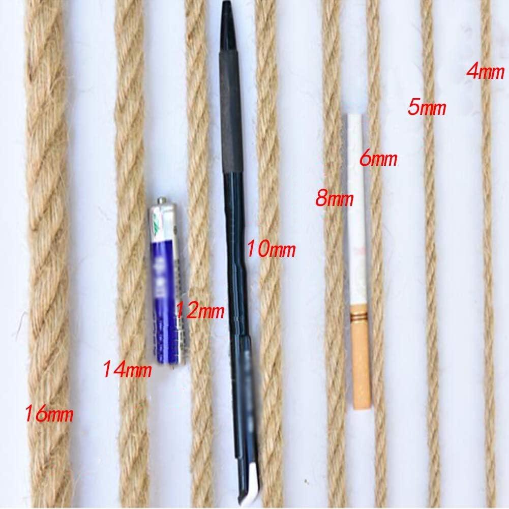 GZHENH Filet Filet De P/êche D/écoratif Filet De Protection D/écor De Filet De P/êche ,Jardin denfants Filet D/écoratif Filet Anti-Chute R/étro Corde De Chanvre R/éutilisable Personnalisable