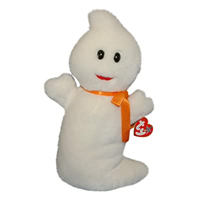 Beanie Buddies Ty Spooky The Ghost: Toys & Games