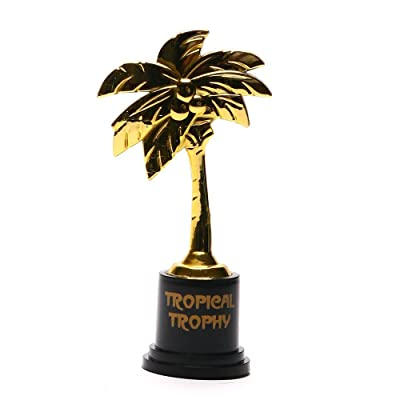 "TROPICAL TROPHIES 5"" (1 DZ) - Stationery - 12 Pieces: Toys & Games"