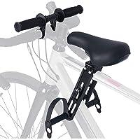 Souarts Assento de bicicleta infantil para bicicletas de montanha, de 2 a 5 anos até 21,8 kg, guidão de bicicleta…