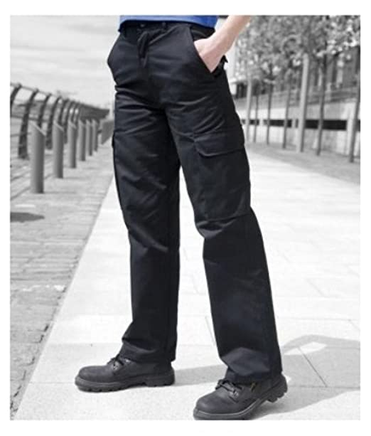 lovely luster official store newest style of Warrior Womens/Ladies Cargo Workwear Trousers