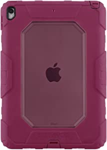 Griffin, iPad Pro 10.5 Rugged case, Survivor All-Terrain with Stand, 4 Layers of Protection, 6ft Drops, Jazzberry Pink