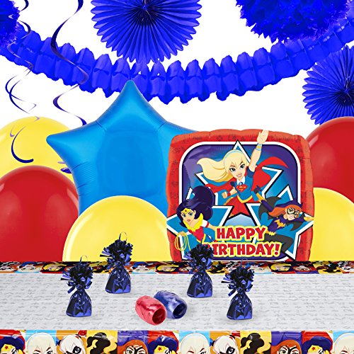 Wonder Pets Party Pack (DC Hero Girl Childrens Birthday Party Supplies - Decoration Pack)