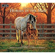 Horses in the Mist 2019 14x12.5 Wall Calendar