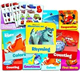 Disney Pixar Board Books Set For Toddlers Babies Kids -- Pack of 12 ''My First'' Books with Stickers (ABCs, 123s, Colors, Friendship and More!)