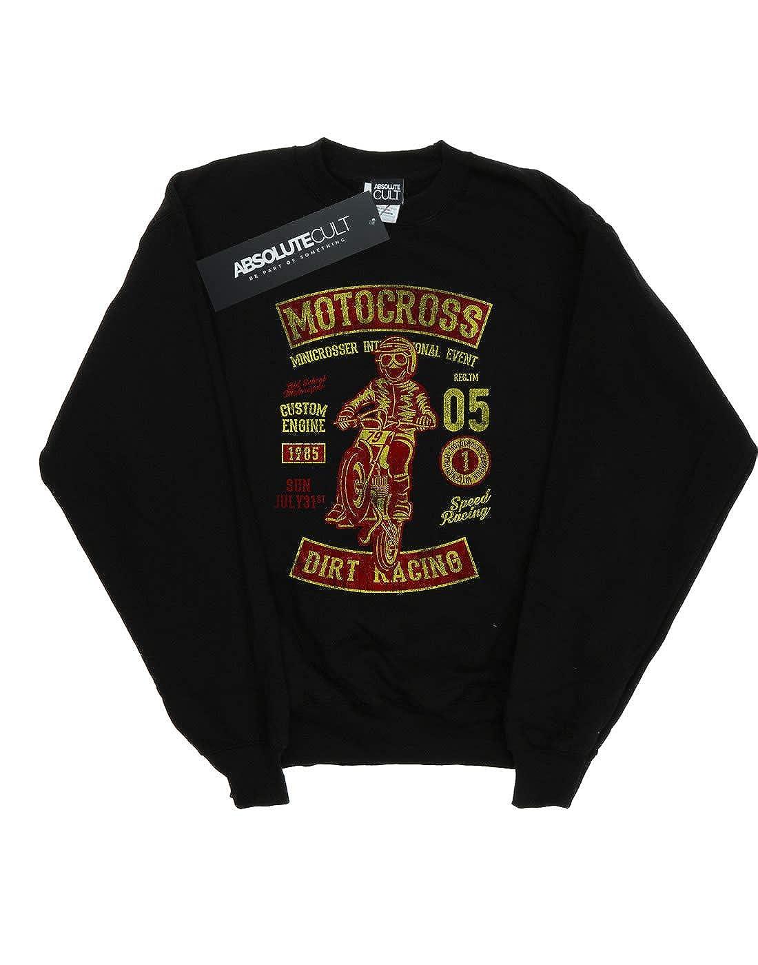 Absolute Cult Drewbacca Womens Motocross Dirt Sweatshirt