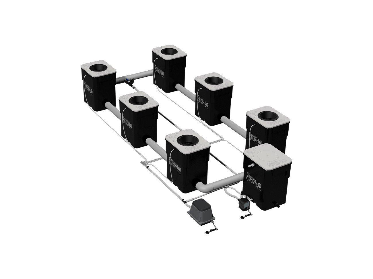 Under Current 6 XXL13 UC6XXL13 - 6 site - 8'' net pots - 13 gallon grow modules - 130 watt - 120V