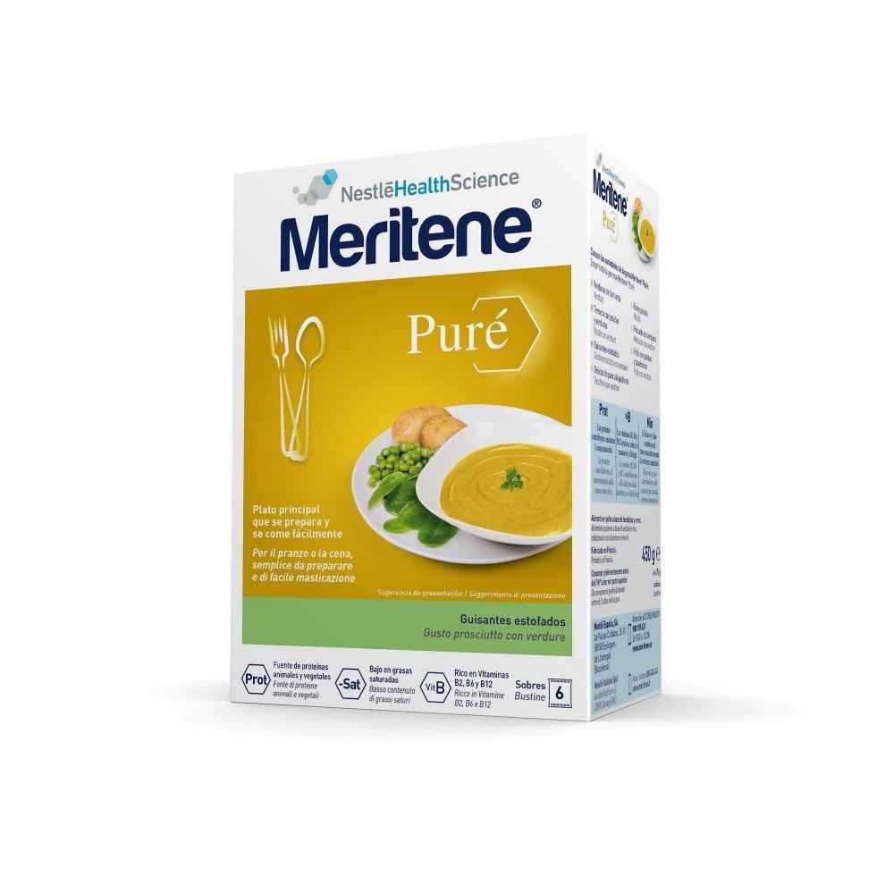 MERITENE - MERITENE PURE GUISANTE75GX6SOB: Amazon.es: Salud y cuidado personal