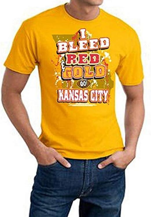 Amazon.com: Encore Kansas City Football I Bleed Red and ...