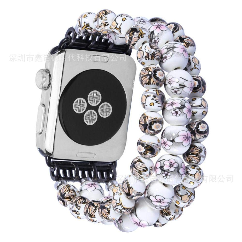 New for Apple Watch Band 42mm 42 for 3 4 Bands 4s S2 L for Apple Watch Band 42mm Band for Apple Watch 38mm Bracelet Loop Watch Holder for Women 4series for Apple Watch Bands Band (Grey, 42mm44mm)