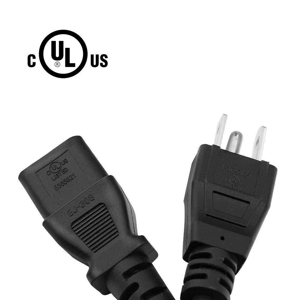 alpha-ene.co.jp Sony Acer UL Listed 18 AWG AC Cable 3 Prong Plug ...