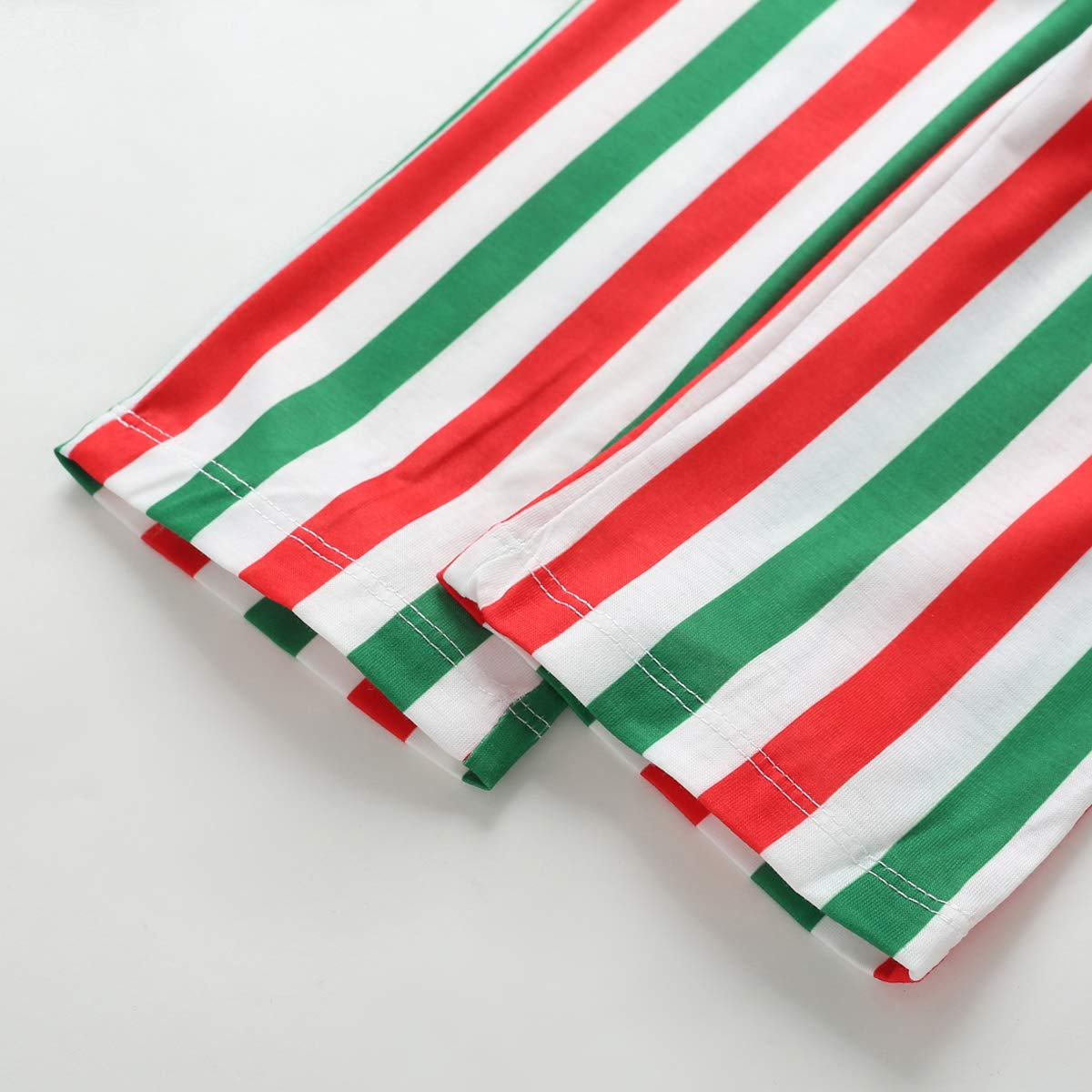 Baby Kids Christmas Family Matching Santa Claus Print Pajamas Set Unisex Baby Sleepwear Clothes Set