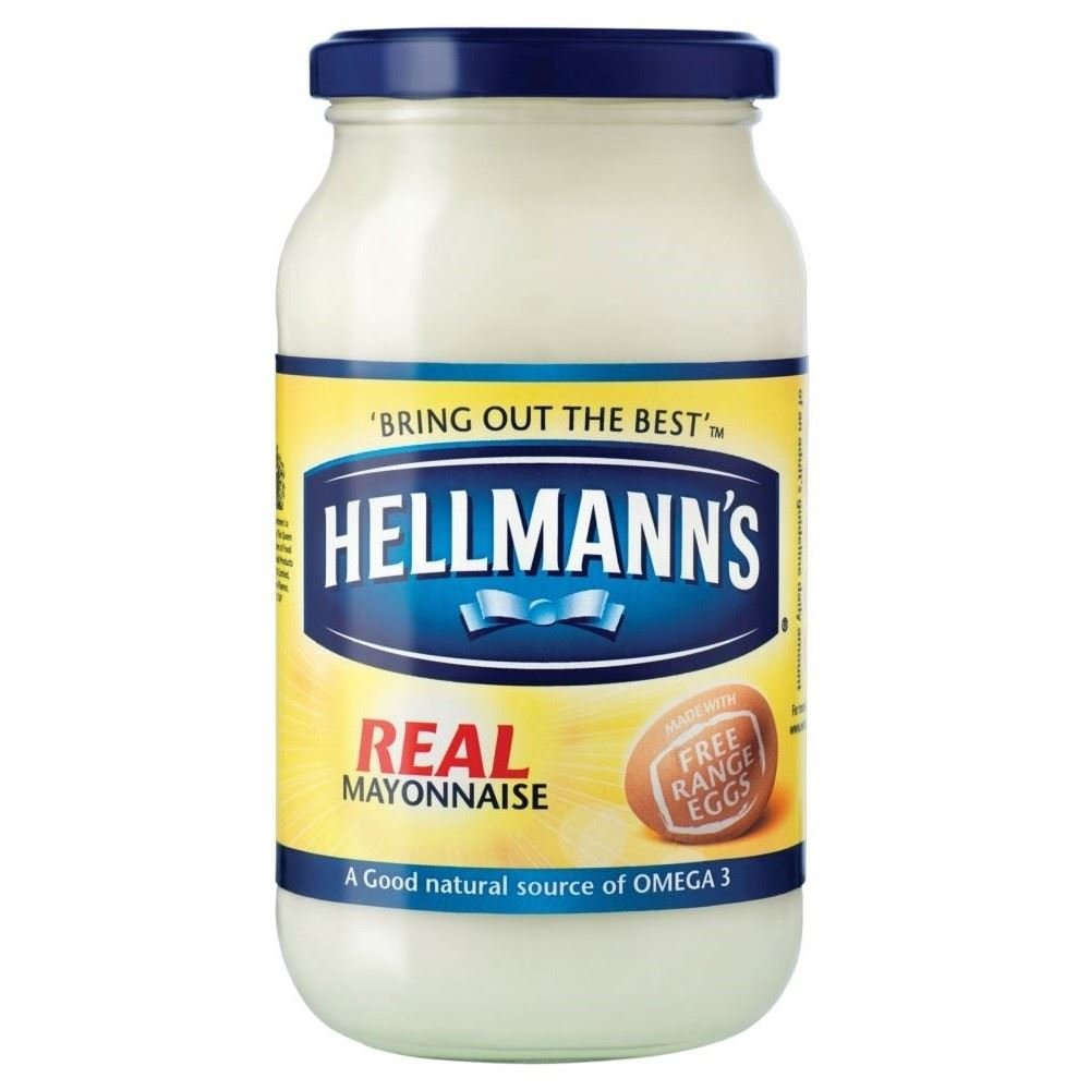 Hellmann's Real Mayonnaise (400g) - Pack of 2