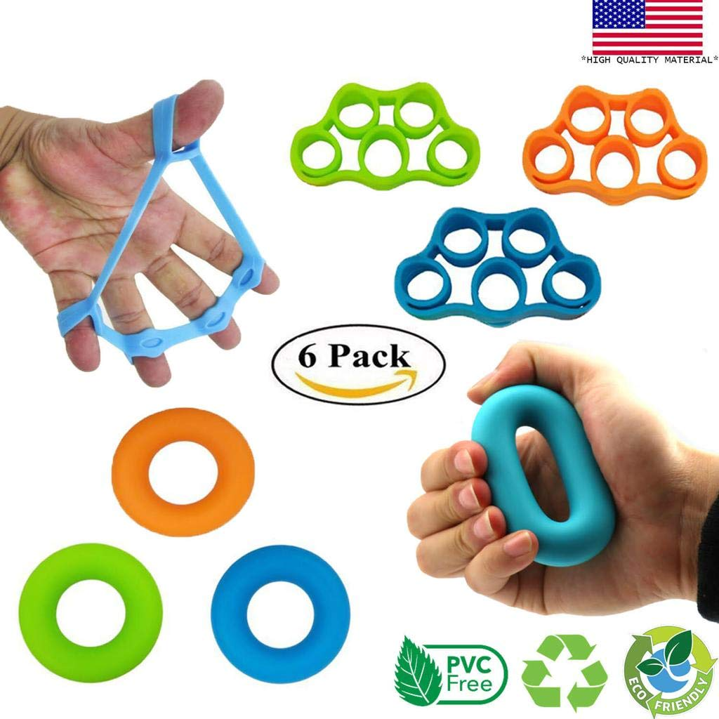 Amazoncom Powerband Hand Grip Strengthener Finger Strengthener