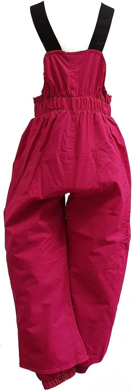 M/ädchen Regenhose ungef/üttert Matschhose mit Latz wasserdicht 10.000 mm Wassers/äule atmungsaktiv Winddicht 4860330 pink Outburst