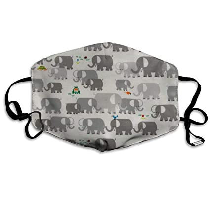 Amazon Com Happy Drawing Organic Elephants Face Masks Breathable
