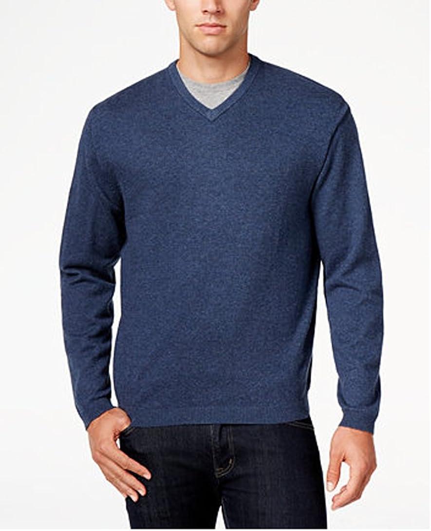 Weatherproof Vintage Men's Cashmere Blend V Neck Sweater