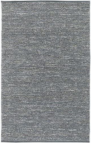Surya Continental COT-1941 Natural Fiber Hand Woven 100 Natural Jute Pale Blue 3 6 x 5 6 Area Rug