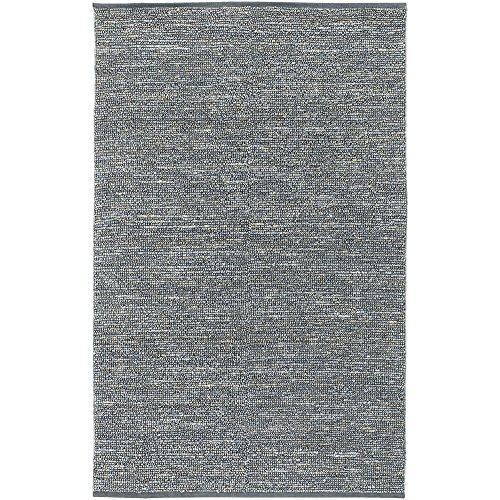 Surya Continental COT-1941 Natural Fiber Hand Woven 100 Natural Jute Pale Blue 5 x 8 Area Rug