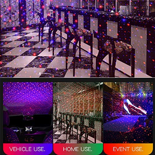 tools, home improvement, lighting, ceiling fans, outdoor lighting,  decorative lighting projectors 4 on sale Auto Roof Ceiling Decoration Colourful LED Star Night in USA