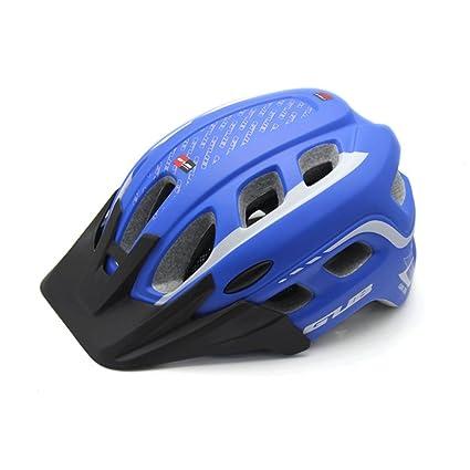 GXQ Casco de una Sola Pieza MTB Ciclismo Ciclismo a Prueba de Insectos Sombrilla Masculina y
