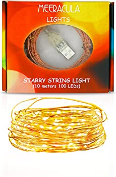 Meercula 100-LED 33.3ft LED String Lights USB Powered