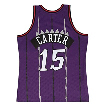 Camiseta Swingman vintage Mitchell & Ness Vince Carter Toronto Raptors Talla M: Amazon.es: Ropa y accesorios