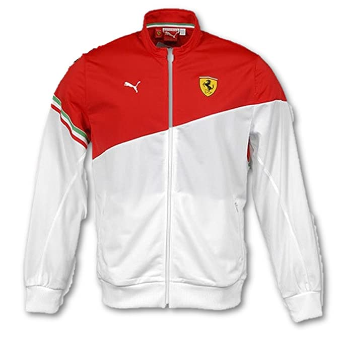 Ferrari - Chaqueta de chándal multicolor rojo, Mehrfarbig ...