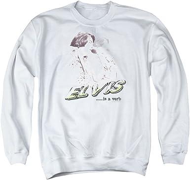 Elvis Painted King Adult Work Shirt